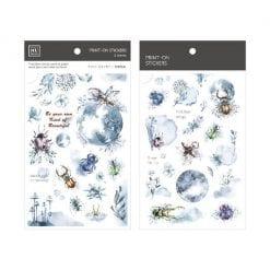 MU Print-On Stickers - Full Moon Night