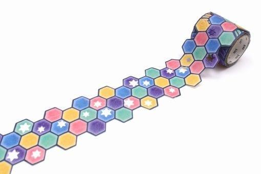MT Fab Stars and Tiles Die Cut tape