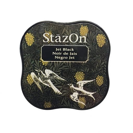 Tsukineko StazOn Jet Black Midi Ink Pad