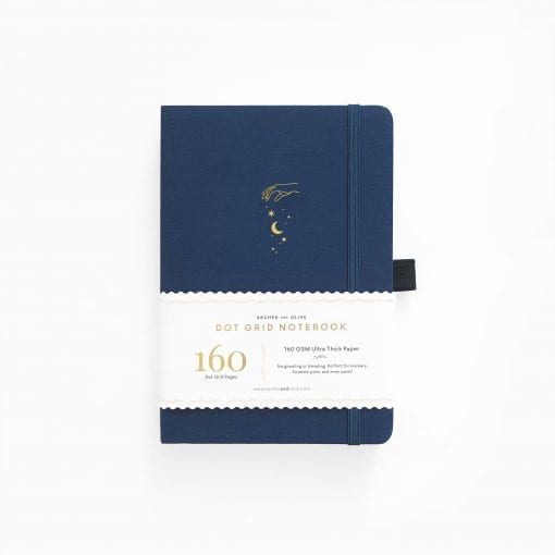 B5 Archer & Olive Stardust Dot Grid Notebook