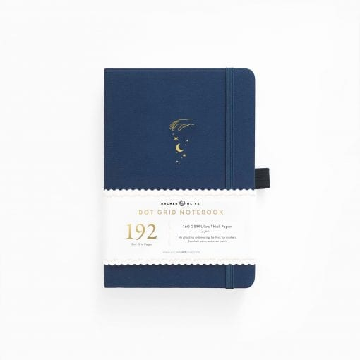 A5 Archer & Olive Stardust 192 Pages Dot Grid Notebook