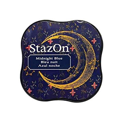 Tsukineko StazOn Midnight Blue Midi Ink Pad