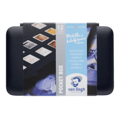 Royal Talens Van Gogh Watercolour Speciality Colours for Black Paper