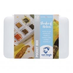 Van Gogh Watercolour Pocket Box 'Shades of Nature' set of 12