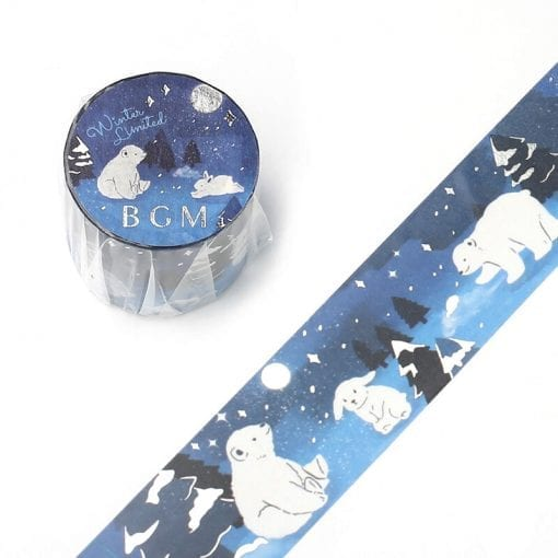 BGM Winter Nights Washi Tape
