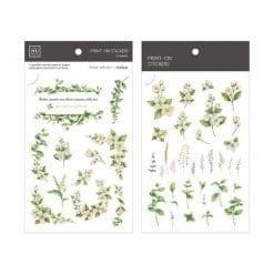 MU Print-On Stickers - Jasmine Flowers