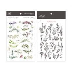 MU Print-On Stickers - Herbs & Wild Flowers