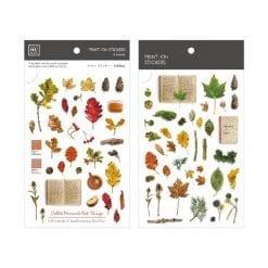 Mu Print On Stickers Autumn Palette