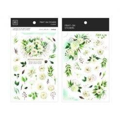 MU Print-On Stickers - Blooming