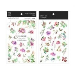 MU Print-On Stickers - Elegance