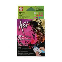 Sakura Koi Watercolour - Set of 12 Creative Art Colours