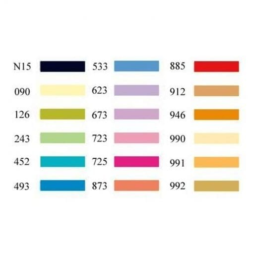 Tombow ABT Dual Brush Pens Secondary Colours - Set of 18