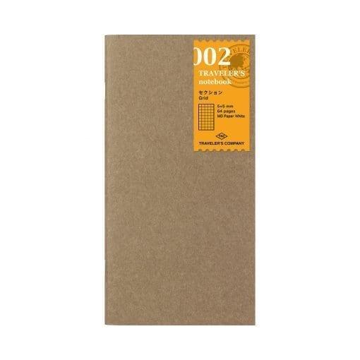 TRAVELER'S Company Notebook Refill 002 - Grid