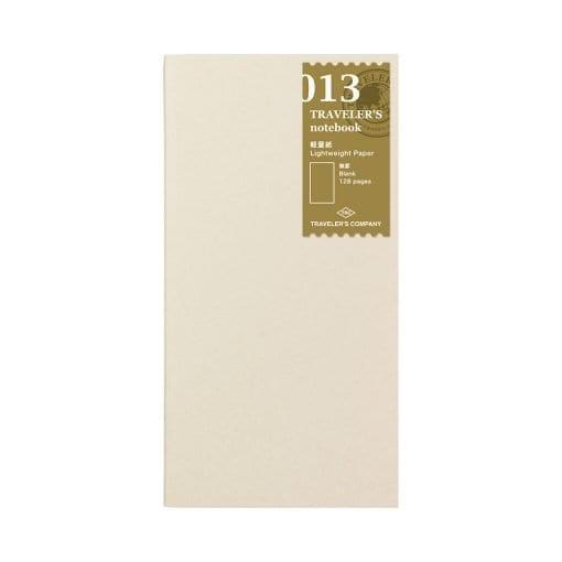 TRAVELER'S Notebook Refill 013 - Light Paper Traveler's Company Japan