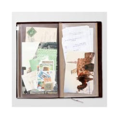 TRAVELER'S Notebook Refill 008 : Zipper Pocket