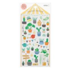 Midori Sticker 2377 Marché Cactus