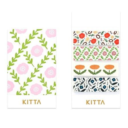 Kitta Washi Sticker Flowers 3 KIT027