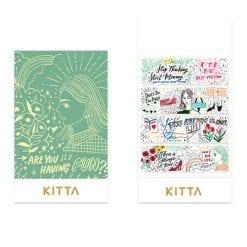 Kitta Washi Stickers - Drawing KIT062