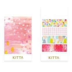 KITTA Clear Stickers - Drops