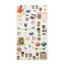 Midori Sticker Marché Coffee 2374