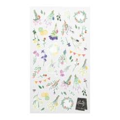 Midori Sticker Marché Dried Flower 2375