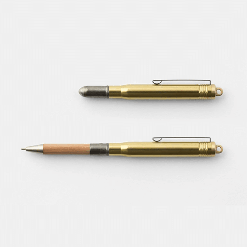 Traveler's Company Brass Ballpoint Pen Made in Japan