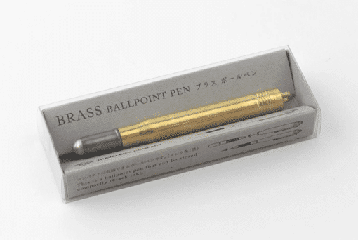 Travelers Company Brass Ballpoint Pen_2