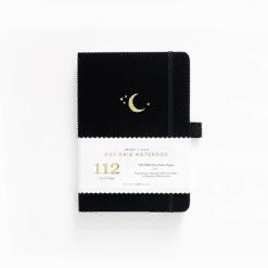 B6 Archer & Olive Crescent Moon Dot Grid Notebook