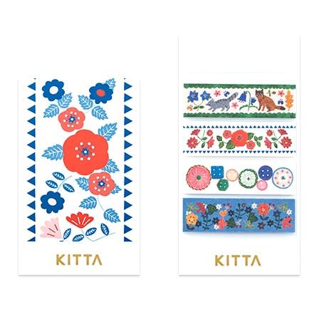 KITTA Washi Stickers - Hobby KIT039