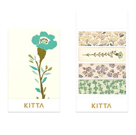 KITTA Washi Stickers - Flower 4 KIT049