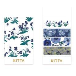 KITTA Washi Stickers - Flower KIT063