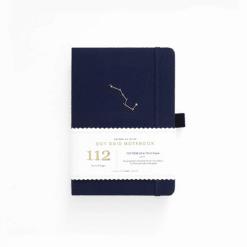B6 Archer & Olive Night Sky Dot Grid Notebook