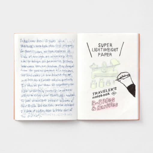 TRAVELER'S Company Limited Edition Notebook - Passport Size Refill Super Lightweight Paper
