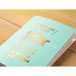 TRAVELER'S Limited Edition Notebook - Passport Size Refill Message Card