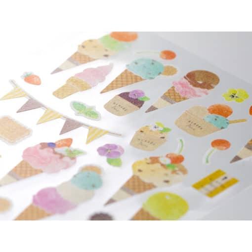 Midori Sticker Marché Ice Cream