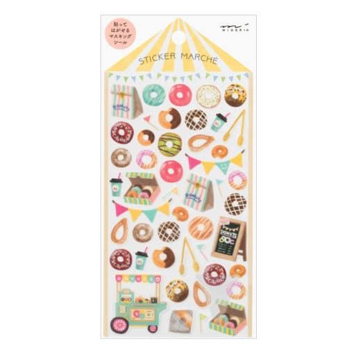 Midori Sticker Marché Doughnut