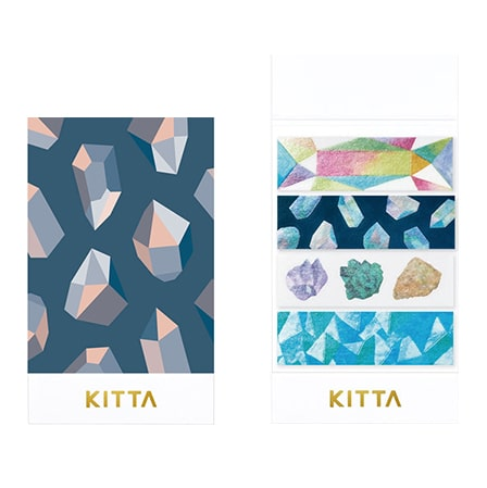 KITTA Limited Washi Stickers - Ore KITL006