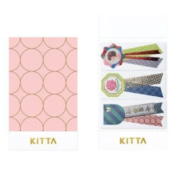 KITTA Limited Washi Stickers - Rosette KITL008