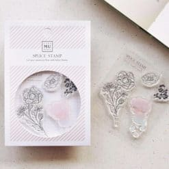 MU LifeStyle Clear Stamp Set No. 02