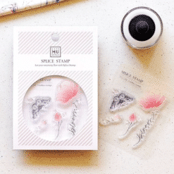 MU LifeStyle Clear Stamp Set No. 10