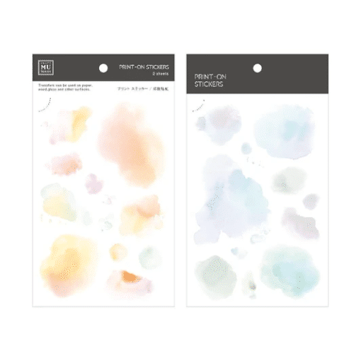 MU Print-On Stickers - Drops