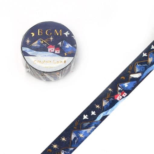 BGM Winter Stars Washi Tape