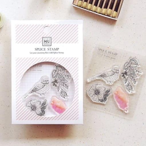 MU LifeStyle Clear Stamp Set No. 05