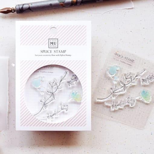 MU LifeStyle Clear Stamp Set No. 06