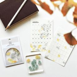 MU LifeStyle Clear Stamp Set No. 19