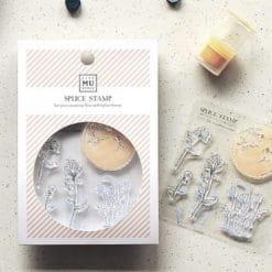 MU LifeStyle Clear Stamp Set No. 20