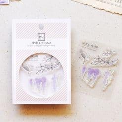 MU LifeStyle Clear Stamp Set No. 09