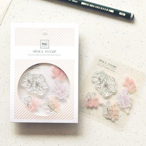 MU LifeStyle Clear Stamp Set No. 15