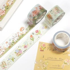 BGM Flower Paradise Washi Tape