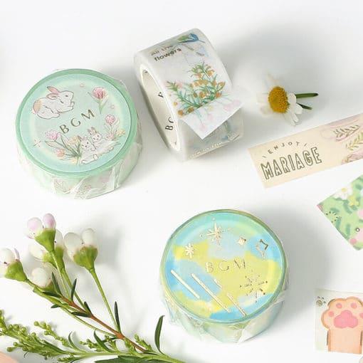 BGM Spring Rabbit Washi Tape